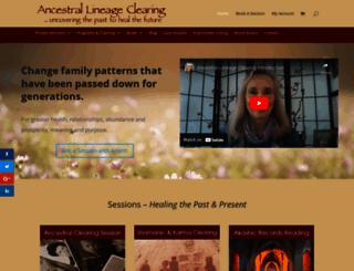 ancestrallineageclearing.com screenshot