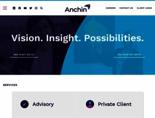 anchin.com screenshot