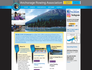 anchoragerowing.com screenshot