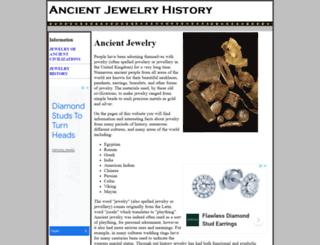 ancient-jewelry-history.com screenshot