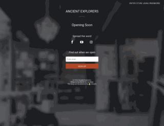 ancientexplorers.com screenshot