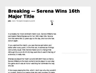 and1.sportsblog.com screenshot