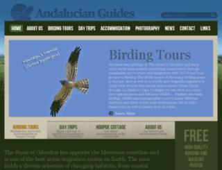 andalucianguides.com screenshot