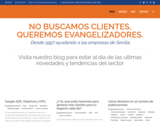 andalunetsocialmedia.com screenshot