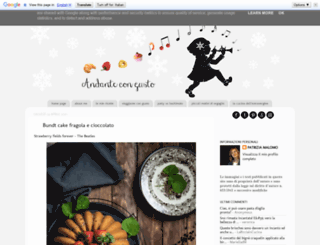 andantecongusto.blogspot.it screenshot