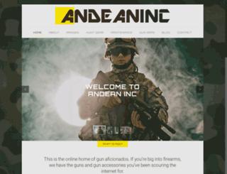 andean-inc.com screenshot