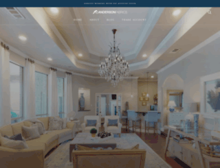 andersonfabrics.com screenshot