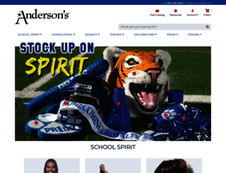 andersons.com screenshot