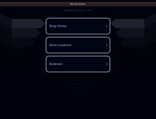 andersonsstore.com screenshot