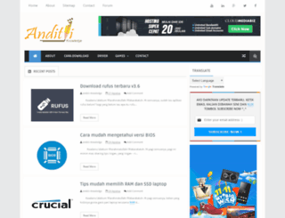 anditii.web.id screenshot