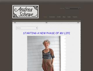 andreaschewedesign.com screenshot