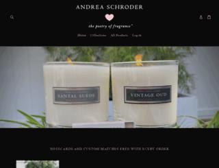 andreaschroder.com screenshot