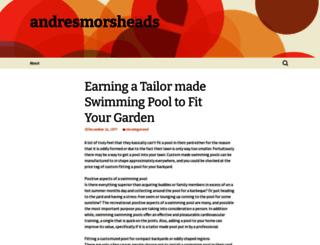 andresmorsheads.wordpress.com screenshot