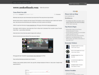 andrestutorialblog.wordpress.com screenshot