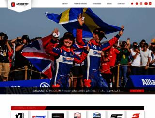andrettiautosport.com screenshot