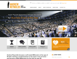 andrew-reynolds.com screenshot