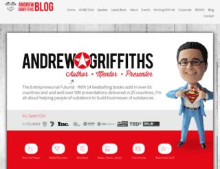 andrewgriffithsblog.com screenshot