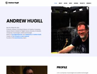 andrewhugill.com screenshot