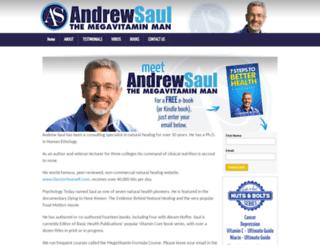 andrewsaul.com screenshot