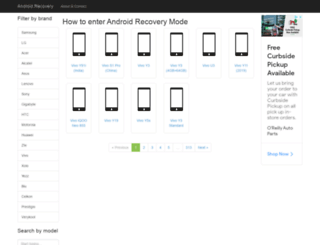 android-recovery.info screenshot