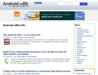 android-x86.info screenshot