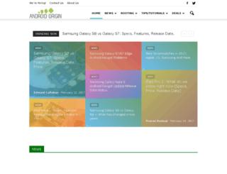 androidorigin.com screenshot