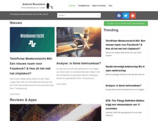 androidrevolution.nl screenshot