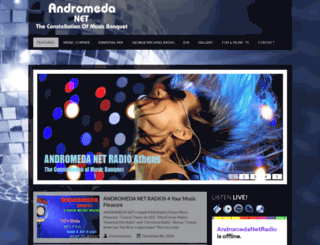 andromedanet.com screenshot