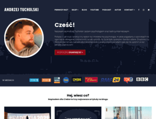 andrzejtucholski.pl screenshot