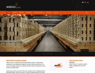 andusgroup.com screenshot