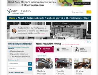 andyhayler.com screenshot