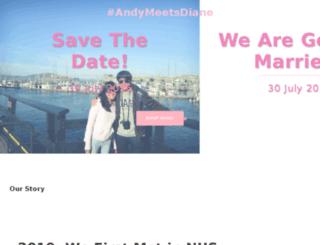 andymeetsdiane.com screenshot