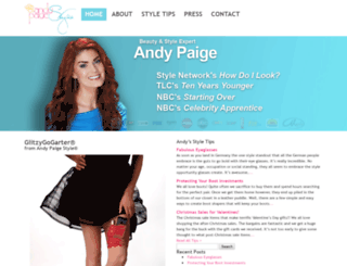 andypaige.com screenshot