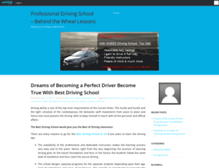aneesdrivingschool.edublogs.org screenshot