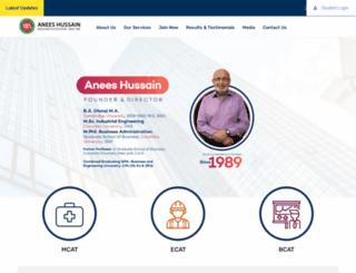aneeshussain.com screenshot