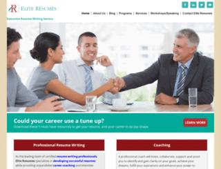 aneliteresume.com screenshot