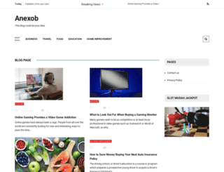 anexob.com screenshot