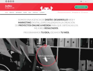 anfibic.com screenshot