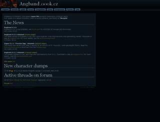 angband.oook.cz screenshot