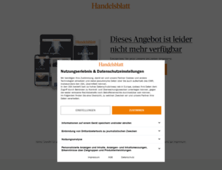 angebot.handelsblatt.com screenshot
