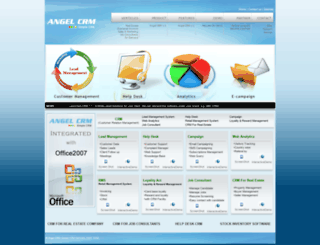 angelcrm.com screenshot