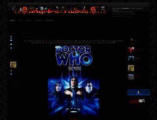 angeles-caidos.es screenshot