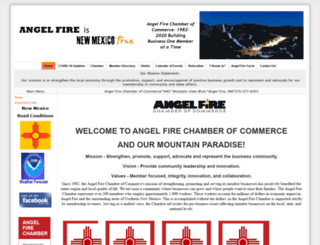angelfirechamber.org screenshot