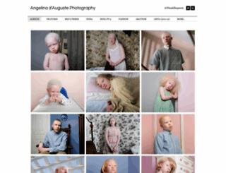 angelinadauguste.com screenshot