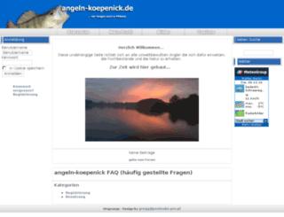 angeln-koepenick.de screenshot