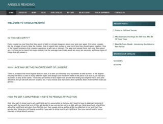 angelsreading.com screenshot