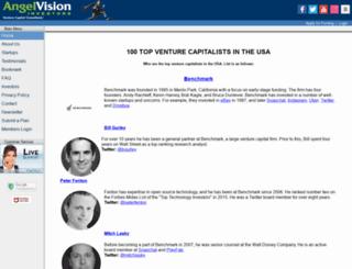 angelvisioninvestors.com screenshot
