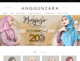 anggunzara.com screenshot