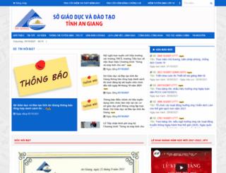 angiang.edu.vn screenshot