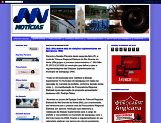 angicosnoticias.blogspot.com.br screenshot
